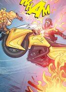 RWBY DC Comics 6 (Chapter 11) Yang throws Bumblebee at Picotee Pirates member