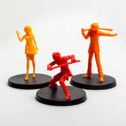 RWBY Combat Ready Villain Miniatures Expansion