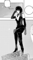 Chapter 13 (2018 manga) Cinder in her sheath outfit