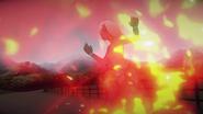 V3e7 emerald hit by fireball