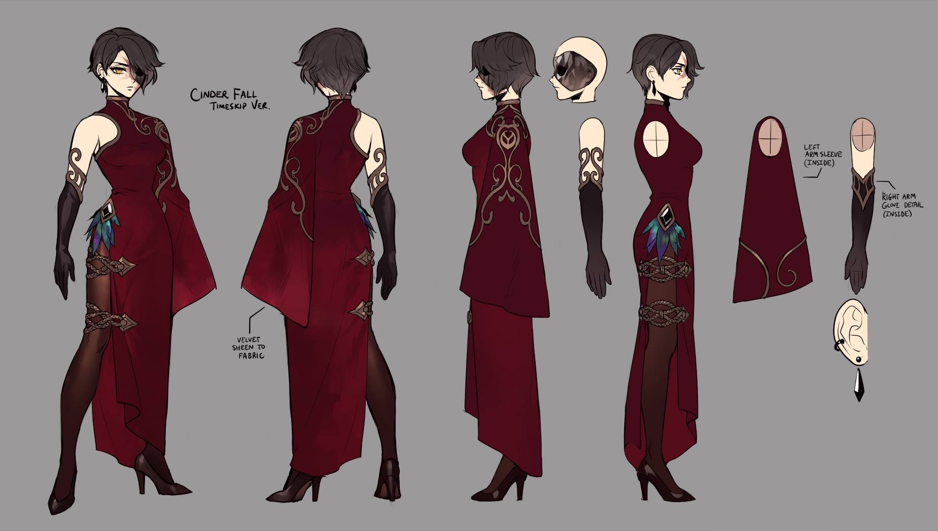 2 besides Watch also Ruby Rose furthermore Gtp Cool Wall 1971 1973 Buick Riviera likewise Concept Art For Rwby Dark Au Fictionmore. on emerald rwby vol 4