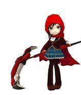Amity Arena Scythe Ruby's Beacon Uniform Model