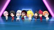 RWBY Crystal Quest Trailer New chibi Outfits