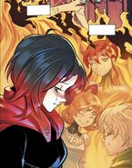 RWBY DC Comics 1 (Chapter 1) Ruby thinks back the people she losts