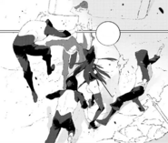 Chapter 8 (2018 manga) Blake fights against the White Fang members