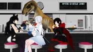 White castle diner