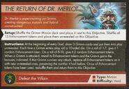 Return of Dr Merlot Objective