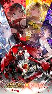Knights Chronicles x RWBY poster