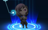 RWBY Crystal Match Neo Politan's dirt appearance