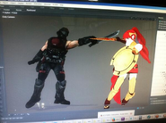 Pyrrha fight placeholder