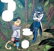 RWBY DC Comics 6 (Chapter 12) Blake talk about the guard Adam killed to Sun