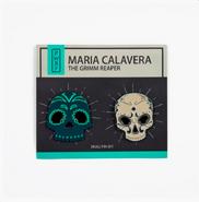 RWBY Maria Calavera Skull Pin Set
