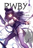 RWBY Official Manga (Vol. 3 From Shadows, US) Front cover