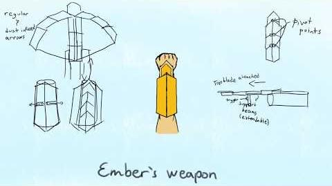 RWBY OC Weapon transformation