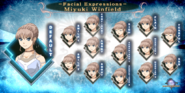 Expressions set miyuki winfield by samjayunfunny-d9h2trt