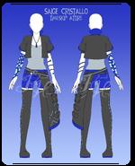 Saige Timeskip Outfit