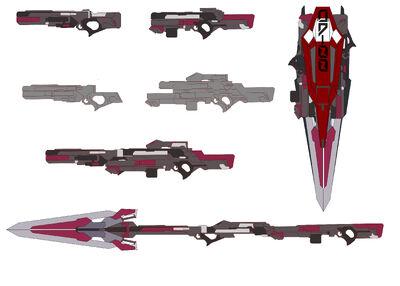 Raiser Weapon Concept