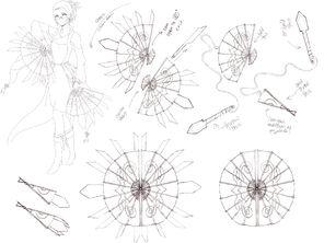 Jade Empresses Sketch