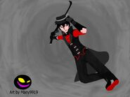 Rwby fanmade charcoal by many9919-db8e155
