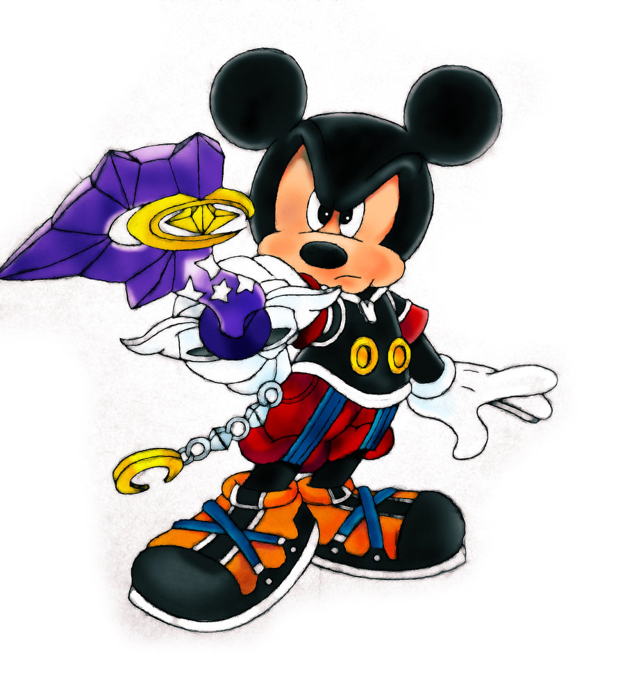 Image Mickey Mouse Kingdom Hearts By Sonofpsychodadx D3cdcce Jpg