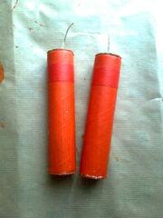 Miniature dynamite