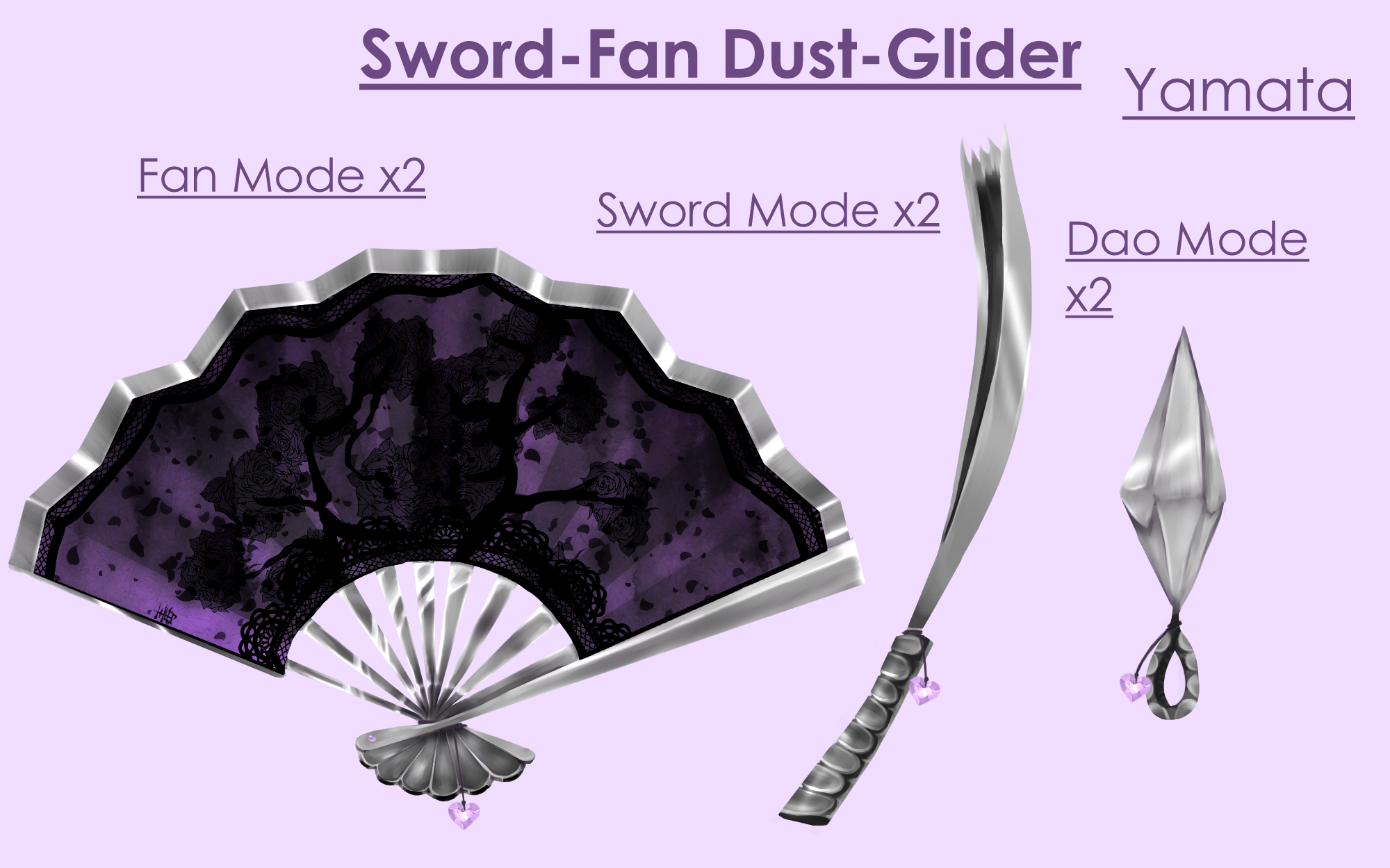Bladed Fan Weapon : Yamata rwby fanon wiki fandom powered by wikia