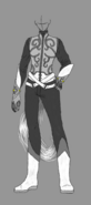 Irvyn Outfit without cape