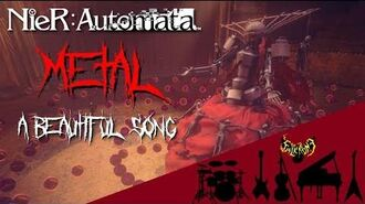 NieR- Automata - A Beautiful Song 【Intense Symphonic Metal Cover】