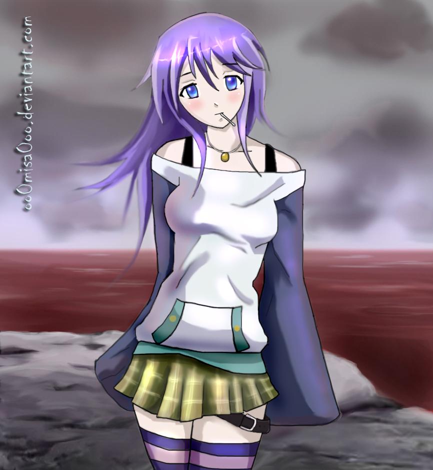Anime rosario vampire mizore