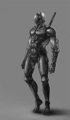 Cyborg Ninja by ichitakaseto