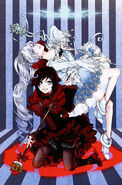 Ruby, Weiss (RWBY Official Japanese Fanbook, Illustration,Shimazaki Maki)