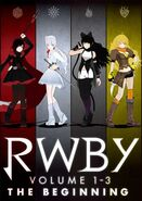 RWBY Volume 1-3 The Beginning poster