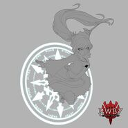 RWBY Amity Arena concept art of Weiss Schnee