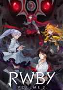Rwby vol2 japan dvd blu-ray cover