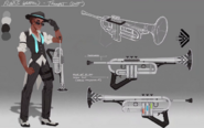 V3e5 flynt weapon concept art