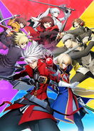 BlazBlue Cross Tag Battle main visual