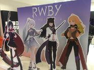 RWBY Japanese Volume 4 promotional material pop-up version of Team RWBY