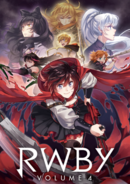 RWBY vol4 japan dvd blu-ray cover