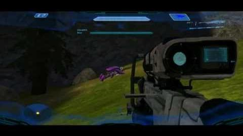 Halo H.L.B. Mod Danger Canyon progress video (no download)