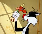 Sylvester hypnotized