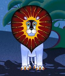 Tinga Tinga Lion