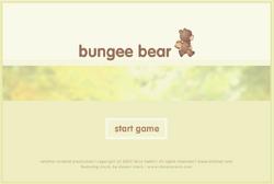 Bunjee bear