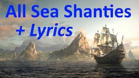 """Assassin's Creed 4- Black Flag"", All 35 Sea Shanties (HD quality) + Lyrics"