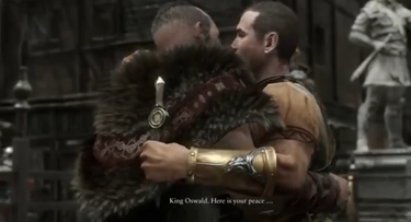Commodus Kills Oswald