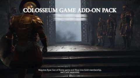 "Ryse Son of Rome ""Colosseum Pack"" Game Add-On"