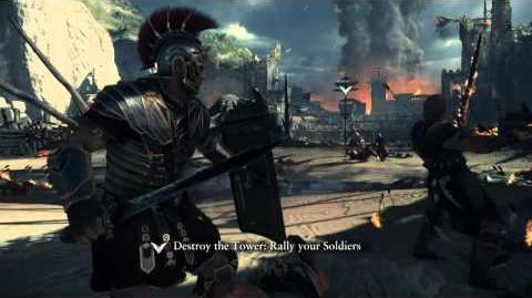 Ryse Son of Rome E3 Gameplay Demo -- with audio fixed