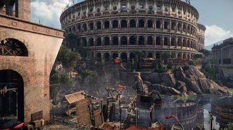 Ryse Son of Rome Developer Flythrough Rome