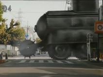 Armoured black tank