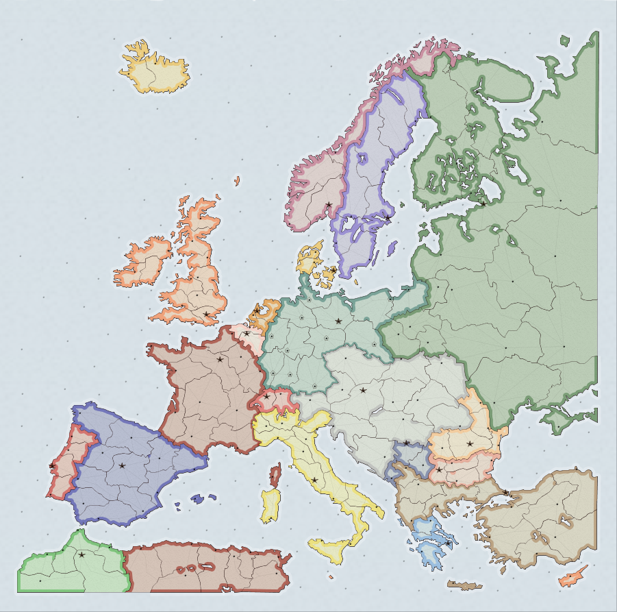 Map Of Europe 1910 Historical Scenario Map | Supremacy1914 Wiki | Fandom