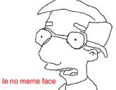 Le no meme face